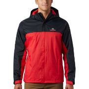 Columbia Men's Georgia Bulldogs Black/Red Glennaker Storm Jacket
