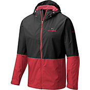 Columbia Men's Georgia Bulldogs Black/Red Roan Mountain Jacket