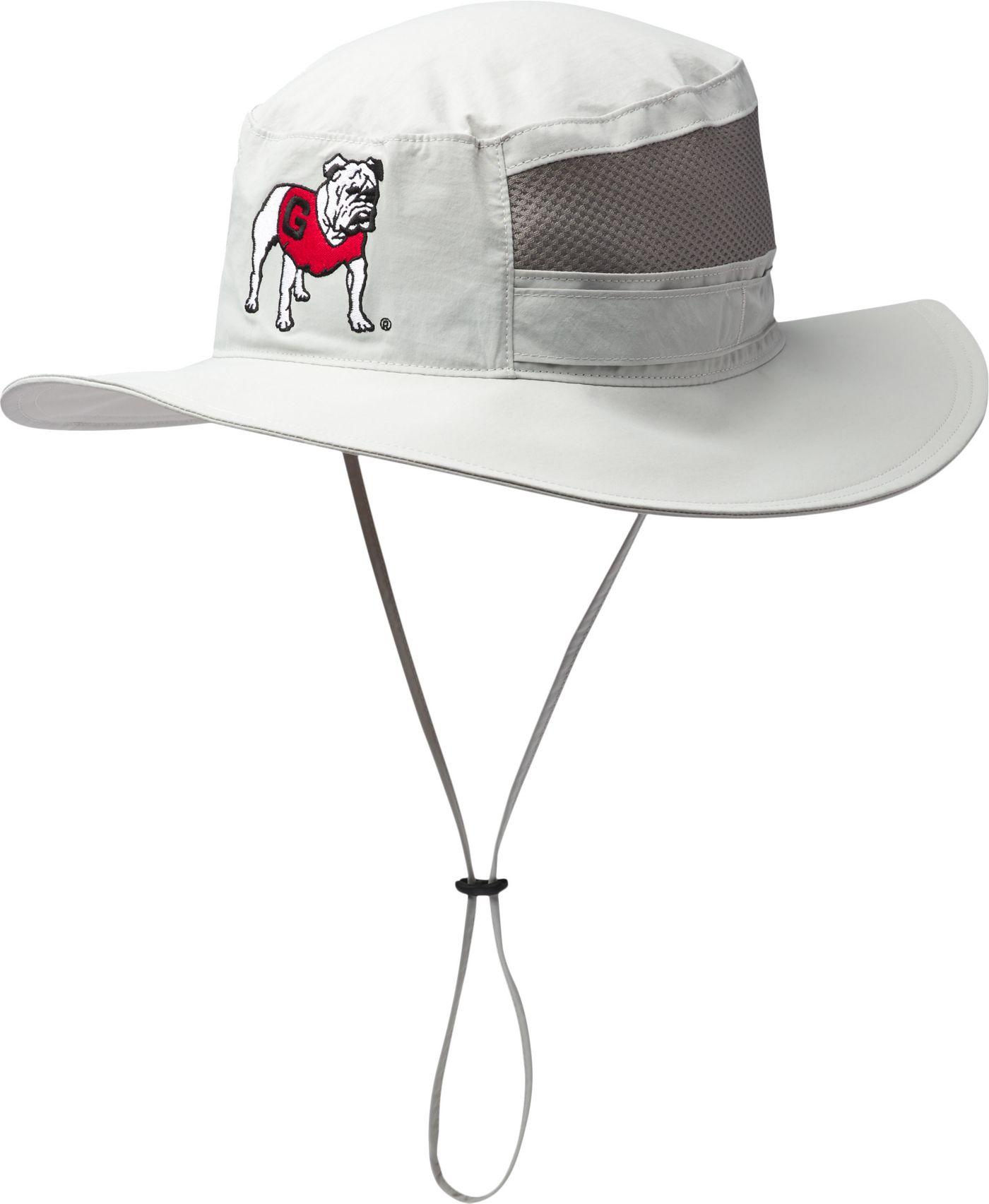 Columbia Men's Georgia Bulldogs Grey Bora Bora Booney Hat