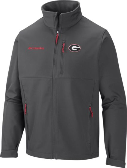 Columbia Men's Georgia Bulldogs Grey Ascender Jacket