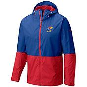 Columbia Men's Kansas Jayhawks Blue/Red Roan Mountain Jacket
