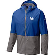 Columbia Men's Kentucky Wildcats Blue/Grey Roan Mountain Jacket
