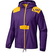 Columbia Men's LSU Tigers Purple Flashback Windbreaker