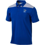 Columbia Men's Memphis Tigers Blue Utility Performance Polo