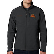 Columbia Men's Minnesota Golden Gophers Grey Ascender Jacket