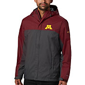 Columbia Men's Minnesota Golden Gophers Maroon/Grey Glennaker Storm Jacket