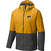 Columbia Men's Missouri Tigers Gold/Black Roan Mountain Jacket