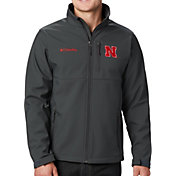 Columbia Men's Nebraska Cornhuskers Grey Ascender Jacket