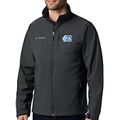 Columbia Men's North Carolina Tar Heels Grey Ascender Jacket