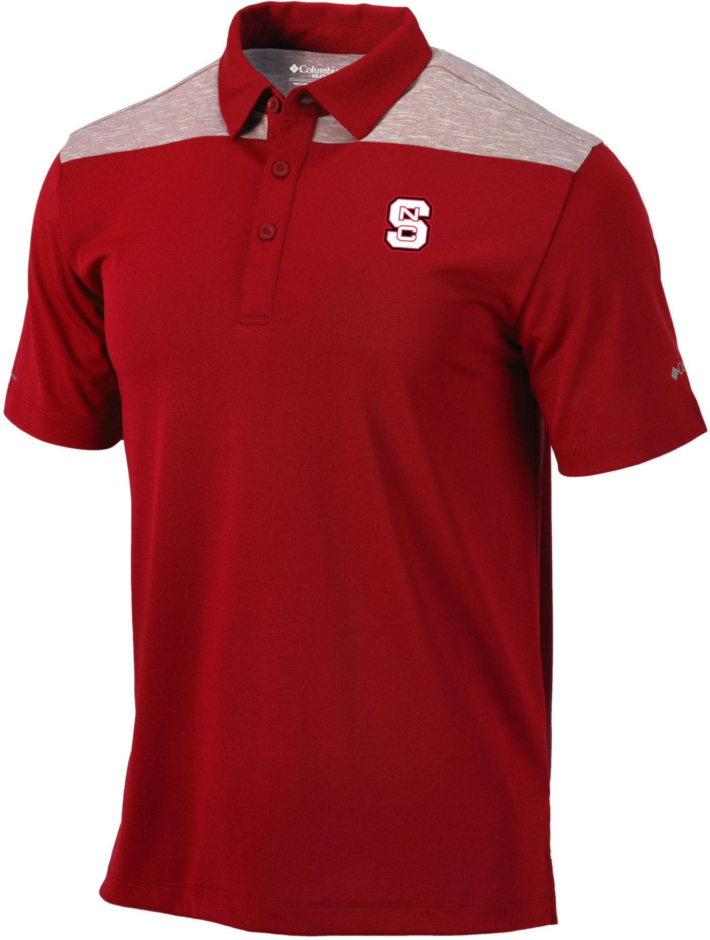 Columbia Men's NC State Wolfpack Red Utility Performance Polo