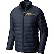 Columbia Men's Notre Dame Fighting Irish Navy Lake 22 Down Jacket
