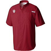 Columbia Men's Indiana Hoosiers Crimson Tamiami Performance Shirt