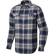 Columbia Men's Florida Gators Blue/White Plaid Flare Gun Flannel Long Sleeve Shirt
