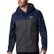 Columbia Men's Penn State Nittany Lions Blue/Grey Glennaker Storm Jacket