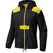 Columbia Men's Oregon Ducks Flashback Black Windbreaker