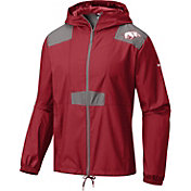 Columbia Men's Arkansas Razorbacks Cardinal Flashback Windbreaker