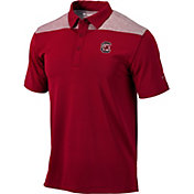 Columbia Men's South Carolina Gamecocks Garnet Utility Performance Polo