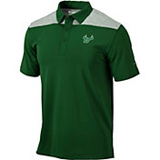 Columbia Men's South Florida Bulls Green Utility Performance Polo