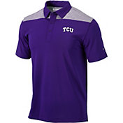 Columbia Men's TCU Horned Frogs Purple Utility Performance Polo