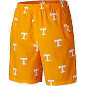 Columbia Men's Tennessee Volunteers Tennessee Orange Backcast II Printed Performance Shorts
