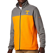 Columbia Men's Tennessee Volunteers Grey Flanker Full-Zip Fleece Jacket