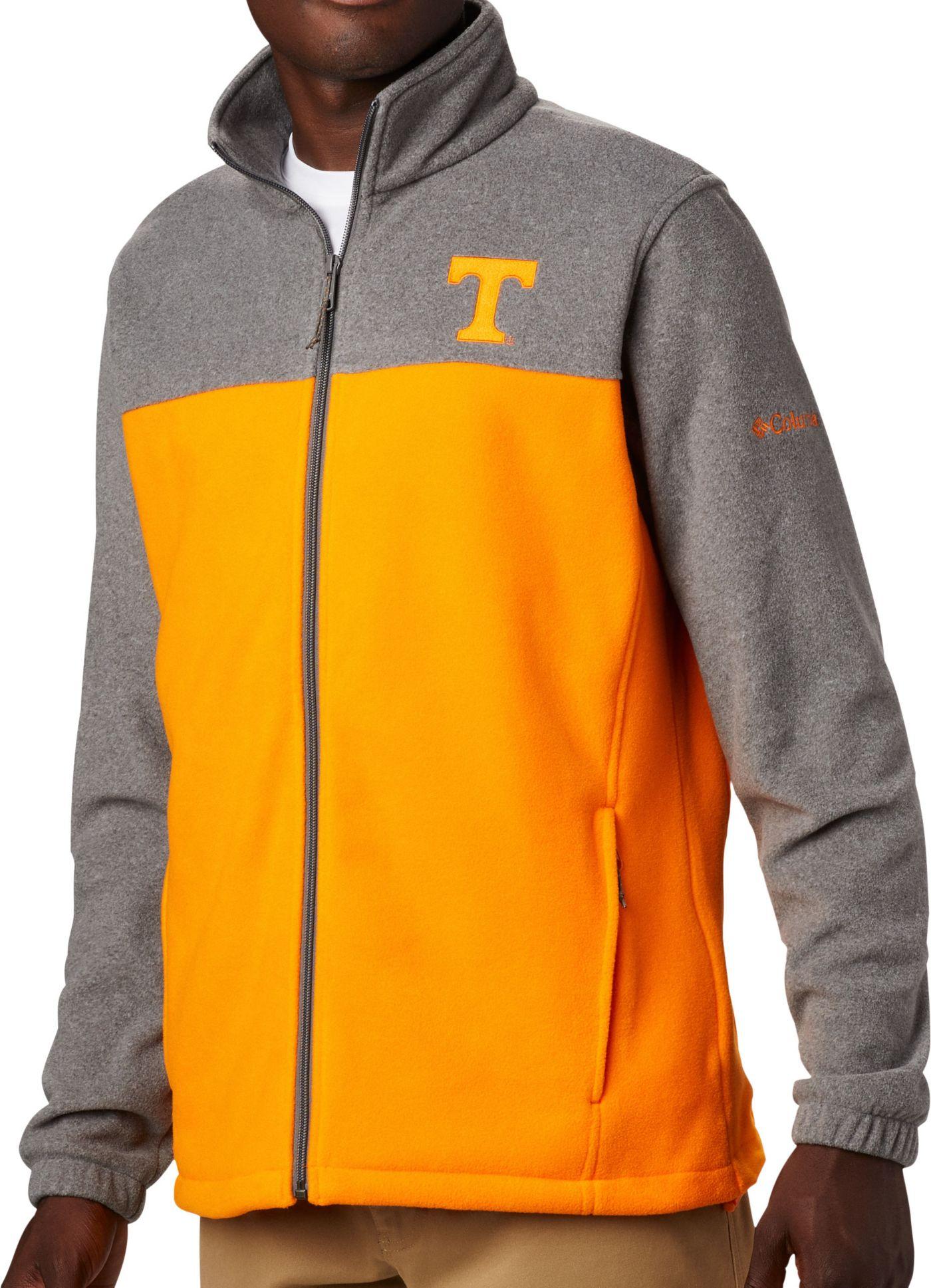 Columbia Men's Tennessee Volunteers Grey Flanker Full-Zip Fleece Jacket