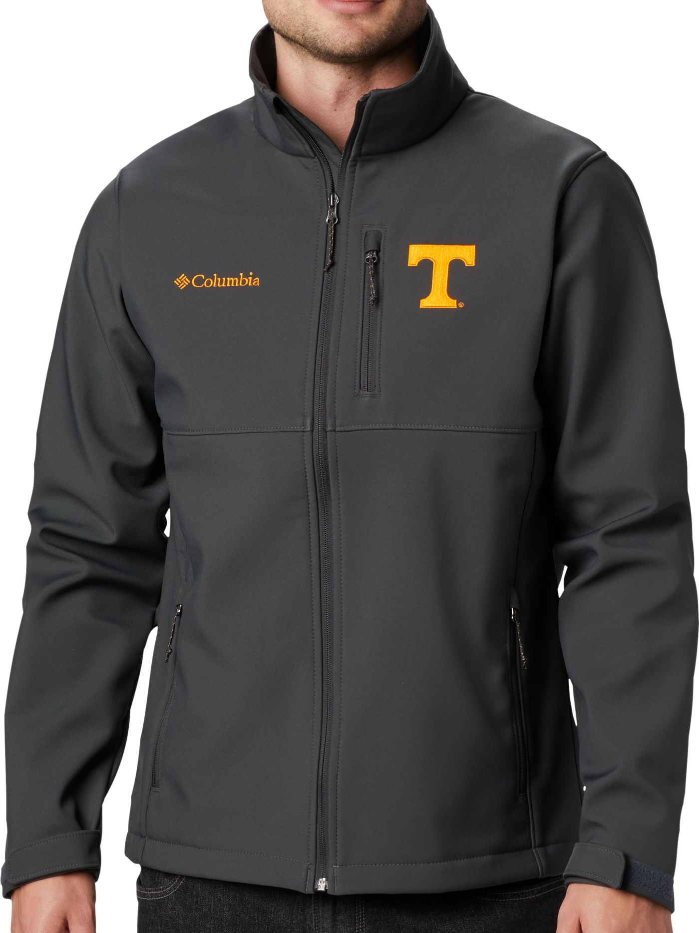 Columbia Men's Tennessee Volunteers Grey Ascender Jacket