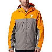 Columbia Men's Tennessee Volunteers Tennessee Orange/Grey Glennaker Storm Jacket