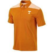 Columbia Men's Tennessee Volunteers Tennessee Orange Utility Performance Polo