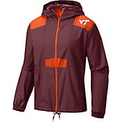 Columbia Men's Virginia Tech Hokies Maroon Flashback Windbreaker