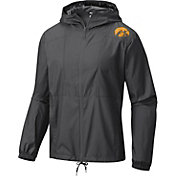 Columbia Men's Iowa Hawkeyes Flashback Black Windbreaker