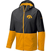 Columbia Men's Iowa Hawkeyes Black/Gold Roan Mountain Jacket