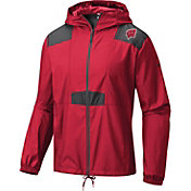 Columbia Men's Wisconsin Badgers Red Flashback Windbreaker