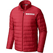 Columbia Men's Wisconsin Badgers Red Lake 22 Down Jacket