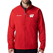 Columbia Men's Wisconsin Badgers Red Ascender Jacket