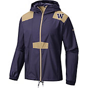 Columbia Men's Washington Huskies Purple Flashback Windbreaker