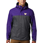 Columbia Men's Washington Huskies Purple Glennaker Storm Jacket
