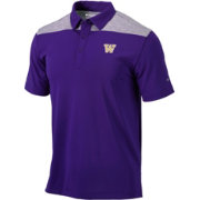 Columbia Men's Washington Huskies Purple Utility Performance Polo