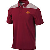 Columbia Men's Iowa State Cyclones Cardinal Utility Performance Polo