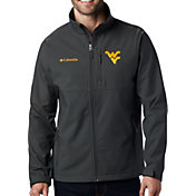 Columbia Men's West Virginia Mountaineers Grey Ascender Jacket
