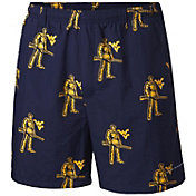 ae2a7e89c Product Image · Columbia Men's West Virginia Mountaineers Blue Backcast II  Printed Performance Shorts