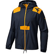 Columbia Men's West Virginia Mountaineers Blue Flashback Windbreaker