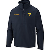 Columbia Men's West Virginia Mountaineers Blue Ascender Jacket
