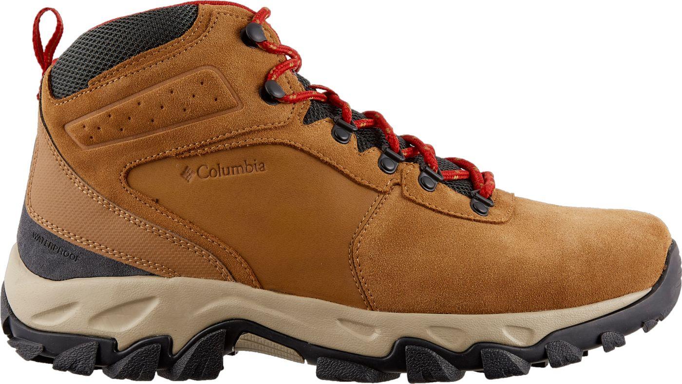 Columbia Men's Newton Ridge Plus II Suede Waterproof Hiking Boots