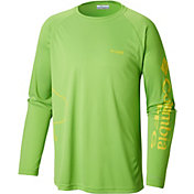 Columbia Men's PFG Fish Series Terminal Tackle Long Sleeve Shirt