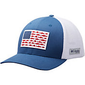 Columbia Men's Mesh Fish Flag Cap
