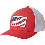 Columbia Men's Mesh Fish Flag Cap