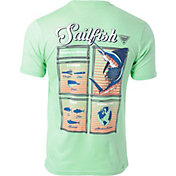 Columbia Men's PFG Sailfish Driftwood Short Sleeve T-Shirt