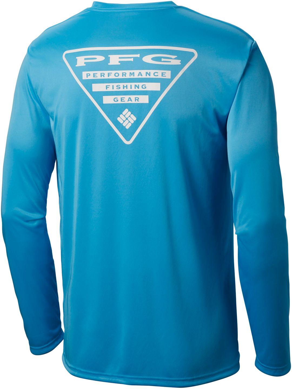 391a4706a53 Columbia Men's PFG Terminal Tackle Triangle Long Sleeve Shirt ...