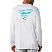Columbia Men's PFG Terminal Tackle Triangle Long Sleeve Shirt (Regular and Big & Tall)